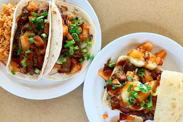 Tacos at marketplace doan